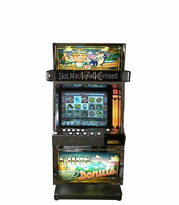 Slot Machine * Cops And Donuts * Lcd Monitor*