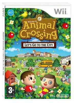 Wii - Animal Crossing: Let's Go To The City (Wii) - Game  R8VG The Cheap Fast