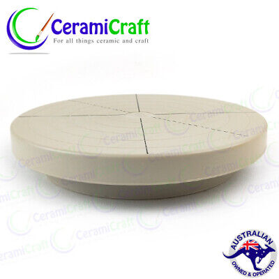 20cm Turntable / Banding Wheel - artist, ceramics, cake decorating, pottery