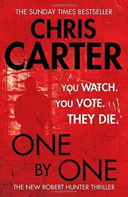 One by One (Robert Hunter 5) by Carter, Chris Book The Cheap Fast Free Post