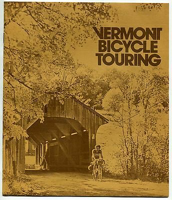 "1977 Brochure: ""VERMONT BICYCLE TOURING"""