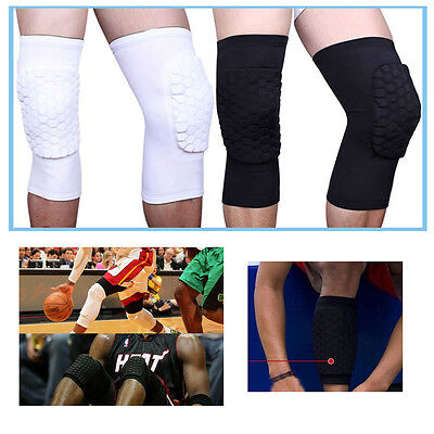 2x Shin Pads Football Basketball Leg Knee Short Sleeve Protector Gear Crashproof