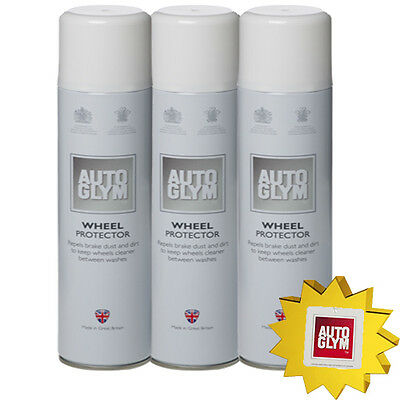 Autoglym Wheel Protector 300ml New x 3