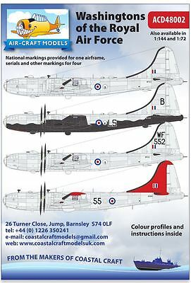 Decals 1:48 for B29 Washingtons in RAF Service ACD48002