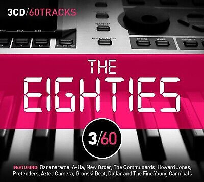 Various Artists : The Eighties CD 3 discs (2011) Expertly Refurbished Product