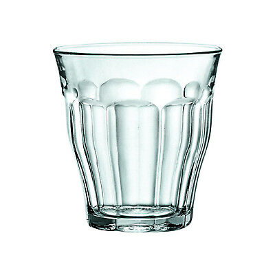 6x Duralex Tumbler, 250mL, Picardie, Commercial Coffee or Beverage Glass