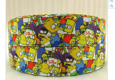 New The Simpsons ribbon Bart Simpson Homer Marge Maggie and Lisa