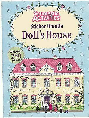 Sticker Doodle Doll's House Colouring Book - Sticker Activity Colouring Doodle