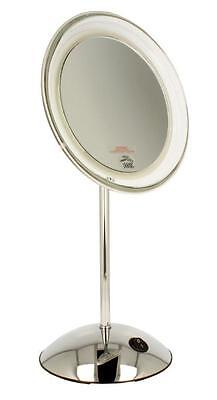 """ClearView 7.5"""" LED 10 X Magnifying Mirror MLMIR105 Make Up Vanity NEW"""