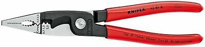 "Knipex Tools 13818 Electrical Installation 8"" Pliers"