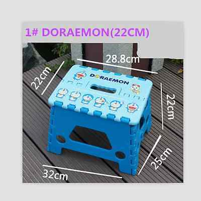 New Multi Cartoon Foldable Plastic Square Folding Step Stool Home Outdoor
