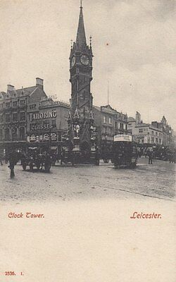 LEICESTER( Leicestershire) :Clock Tower-HARTMANN