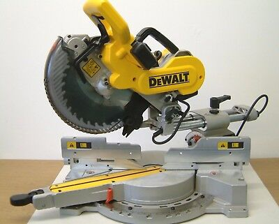 DeWALT DW717XPS  SLIDE MITRE SAW 240v UK CE G'teed