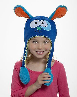 "Flipeez ""Blue Puppy"" Children's Hat"