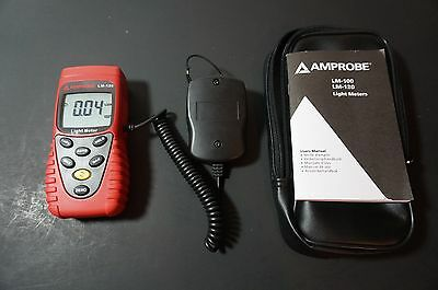 NEW Amprobe Light Meter Silicon Photodiode and Filter Model # LM-120