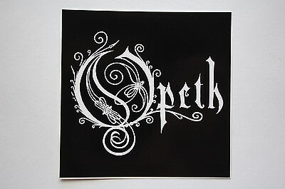 Opeth Sticker Decal (S386) Black Metal Dissection Dream Theatre Venom Car