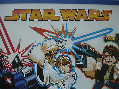 RARE Collectible 2005 Lucasfilm Ltd & TM Star Wars Framed Print Anime Characters