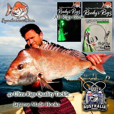 5 Snapper Snatchers Paternoster Rig Port Port Phillip Bay Best Fishing Rig Bait
