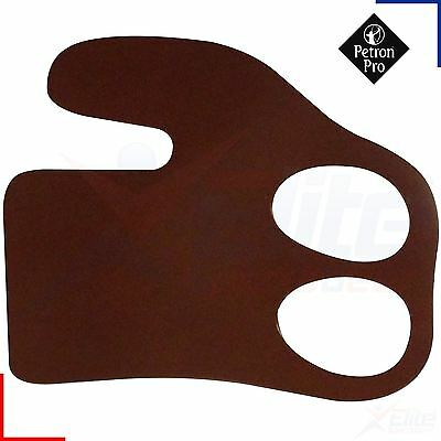 Archery Bow Finger Tab - Leather - Right Handed Guard - Small, Medium or Large