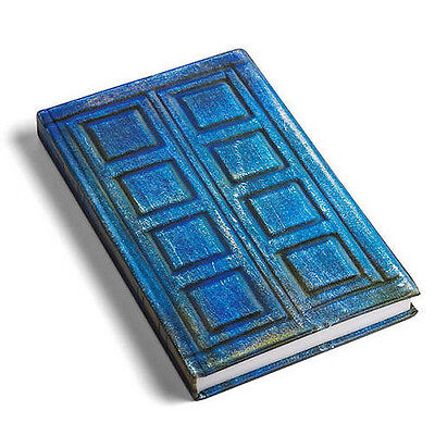 TARDIS Doctor Who River Song's Journal Notebook Mottled Blue Door Diary #QW