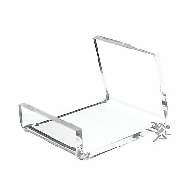 Clear Acrylic Cell Phone Display Stand Holder Qty: 5