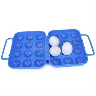 Plastic Egg Carrier Holder Container Box Camping Picnic Travel Storage Case