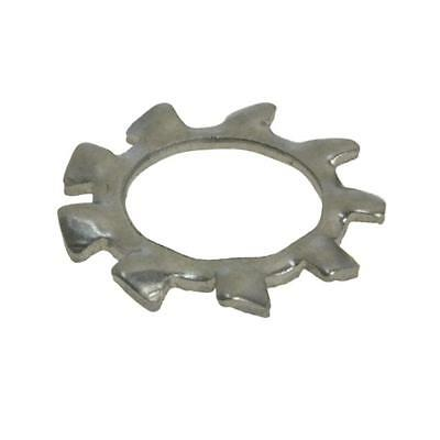 Qty 100 External Tooth Lock Washer M10 (10mm) Stainless Steel SS 304 A2 Star