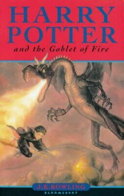 Harry Potter and the Goblet of Fire (Book 4) by Rowling, J. K. Paperback Book