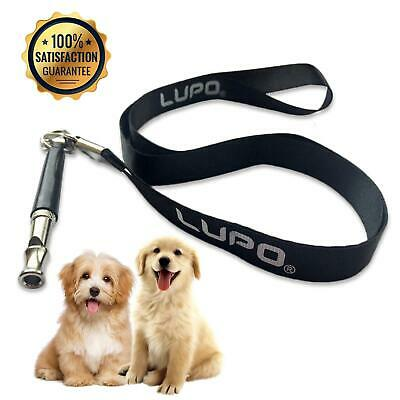 Dog Puppy Training Whistle Ultrasonic Pitch Sound Adjustable Key Chain