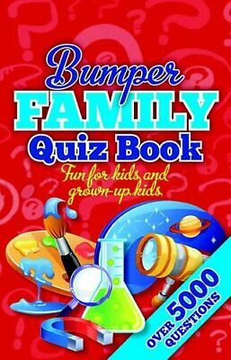 Bumper Family Quiz Book (Bumper Quiz Book) by NA Book The Cheap Fast Free Post