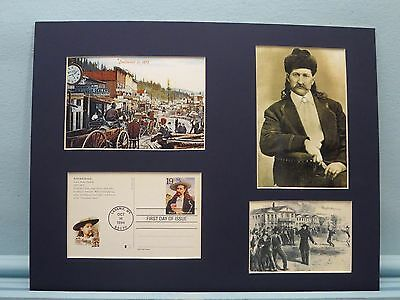 Wild Bill Hickok & Deadwood & First Day Cover of his own stamp