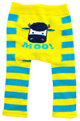 New Cow Design Baby Tippy Toes Footless Tights