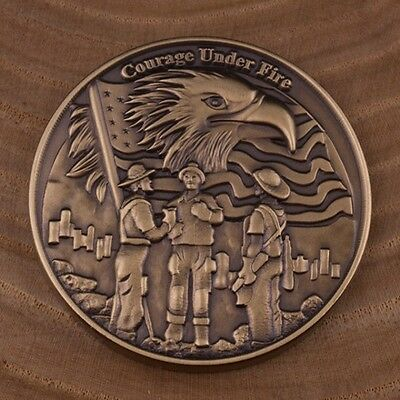 Firefighter's Dedication Coin