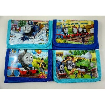 NEW Thomas The Tank Engine Kids Boys Children Purse Coins Wallet Party Bag + GIF
