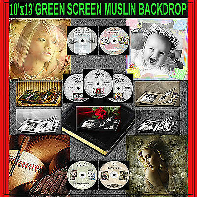 Digital Photography Backgrounds Green Screen Muslin Backdrop Photoshop Templates