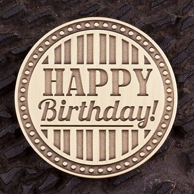 Happy Birthday Adult Coin