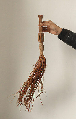 Antique Baule fly whisk Cote d'Ivoire, very old piece!