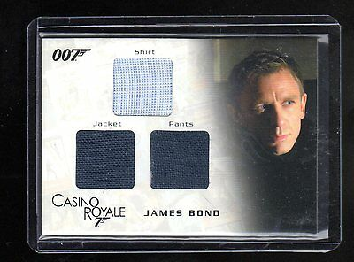 James Bond in Motion TC01 costume card 147/1300