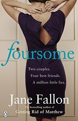 Foursome, Fallon, Jane Paperback Book The Cheap Fast Free Post