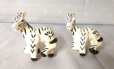 Set/lot Of 2~Resin Animal Drawer Cabinet Door Pulls~Knobs~Zebra~Kids~Hardware