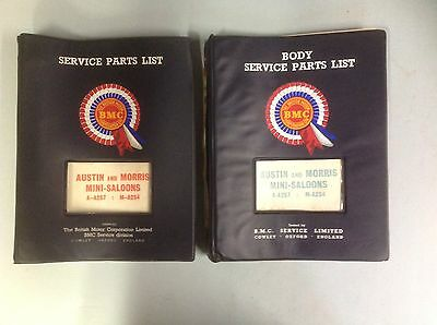Austin & Morris Mini Service Parts & Body Parts List AKD 3502 & AKD3503