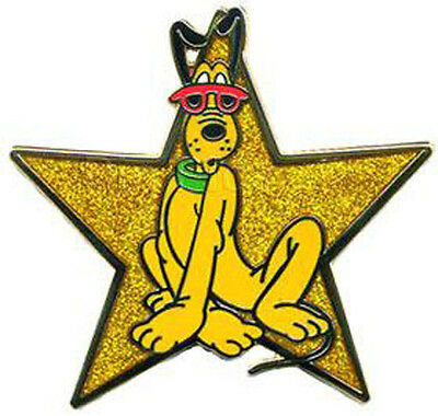 Disney Pin Collection Gold Star Series Pluto WDW Walt World Limited Edition