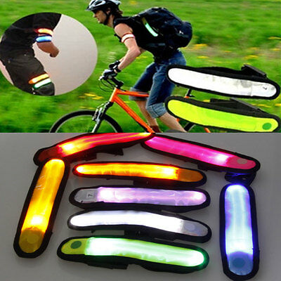 LED Color Lattice Arm with Luminous Armband Fashion Runner's Lighting Outdoor
