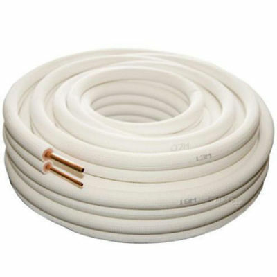 Air Conditioner Pair Coil Tube 1/4 3/8 Insulated Copper Pipe 20 metre