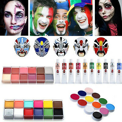 Kinderschminken Painting Paint Theaterschminke Schminke Schminke-Make Up Set