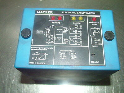 Mayser SG-SUE 102 6909 Electronic Safety System