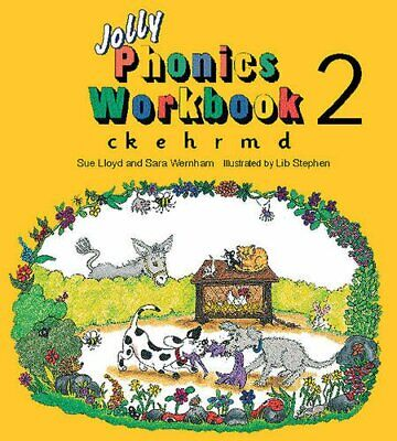 Jolly Phonics Workbook 2: in Precursive Letters (B... by Wernham, Sara Paperback