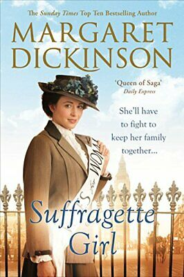 Suffragette Girl by Dickinson, Margaret Book The Cheap Fast Free Post