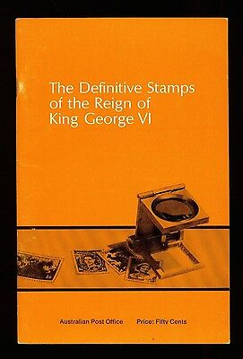AUSTRALIA, The DEFINITIVE STAMPS of the REIGN of KING GEORGE VI, KG6