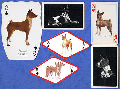 Basenji A Selection Dog Playing Swap Single Cards Great Gift When framed